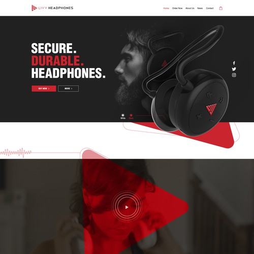 Headphone website