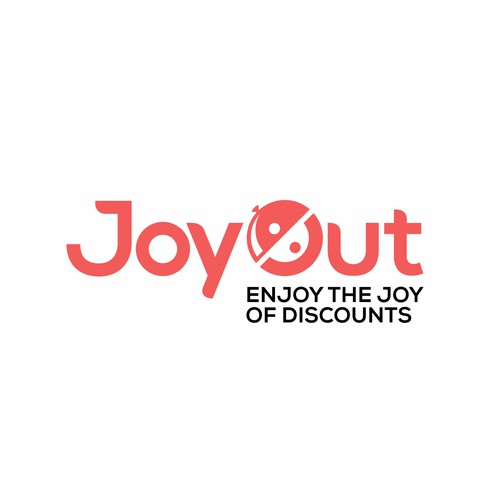 Bold logo concept for JoyOut