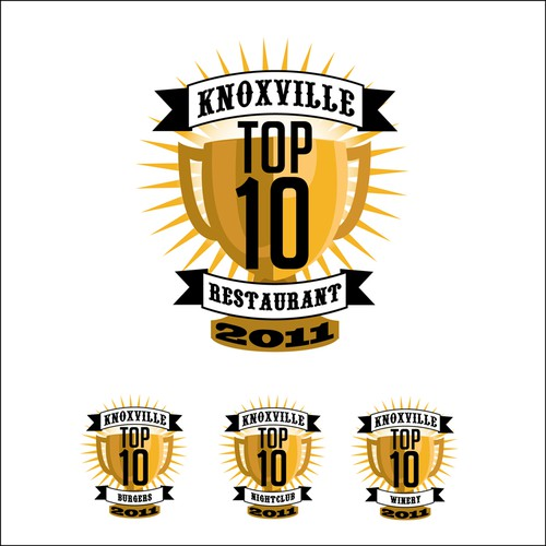 Help Top 10 Knoxville with a new design