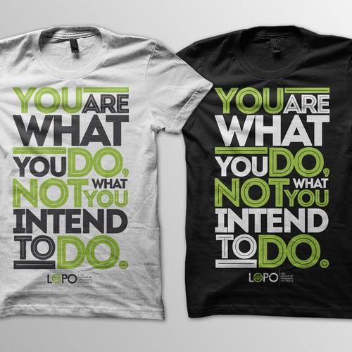 League of Pragmatic Optimists T-Shirt design