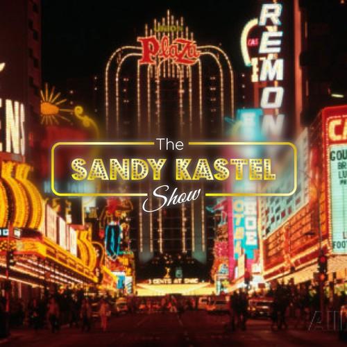 Create an iconic logo for Las Vegas entertainment lifestyles TV show