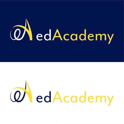 Logo concept for a professional training centre