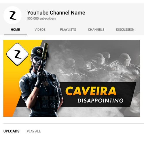 Design youtube channel