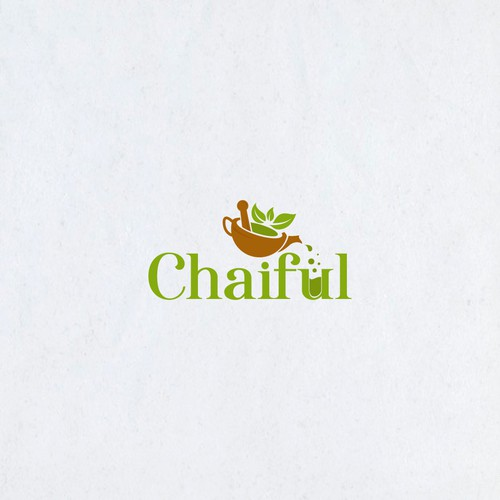 Design a logo for an e-commerce tea platform Chaiful