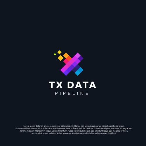 logo concept for TXDATA