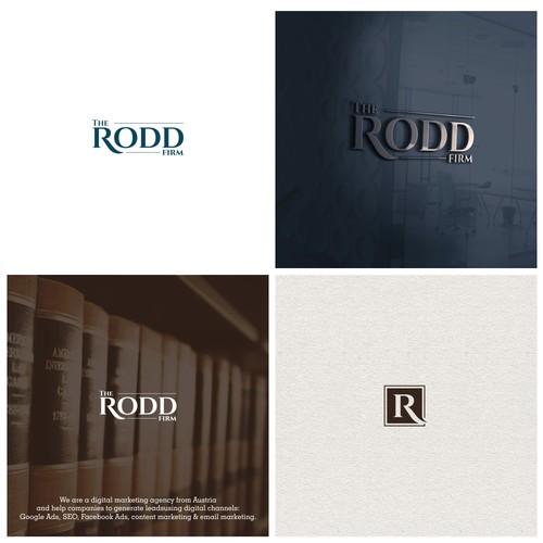 Logo design for The Rodd Firm