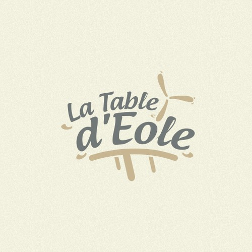 "Logo for ""La Table d'Eole"" !"