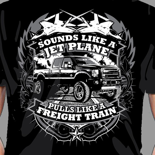Ford Truck T-Shirt Design