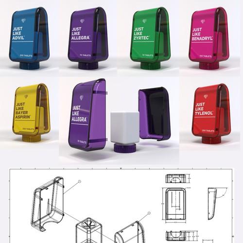 Pill Bottle New Concept Design