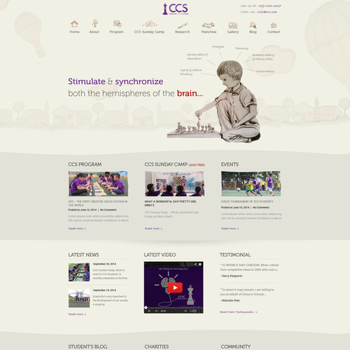Create the best education web design of 2015