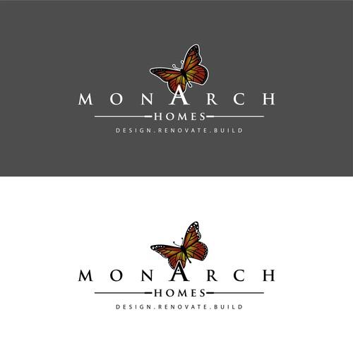 Re design logo for Monarch Homes