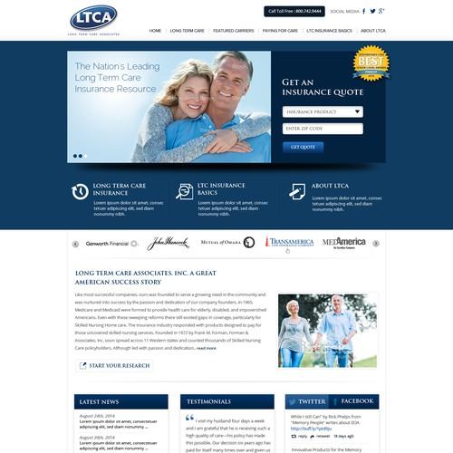 Insurance web site