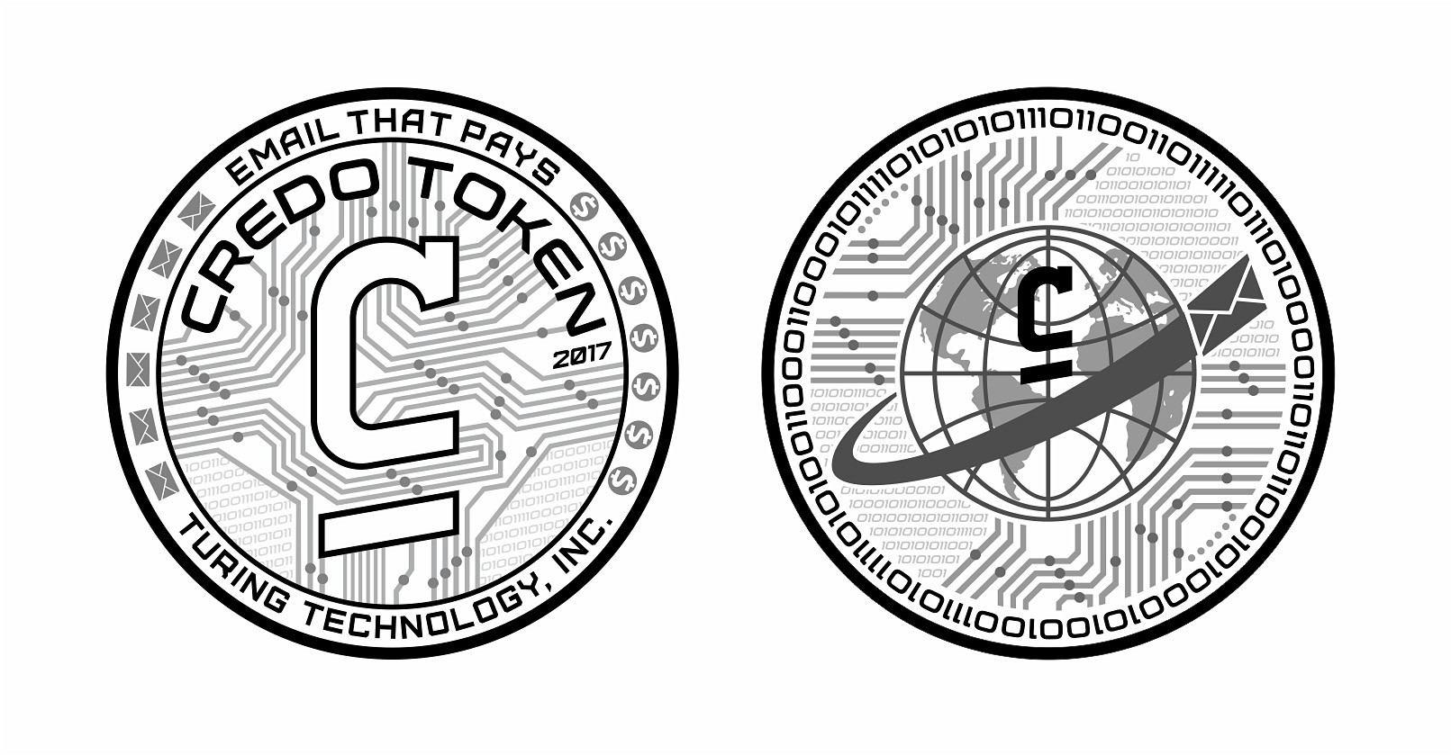 Turn the Credo cryptocurrency into physical gold coins & bank notes.