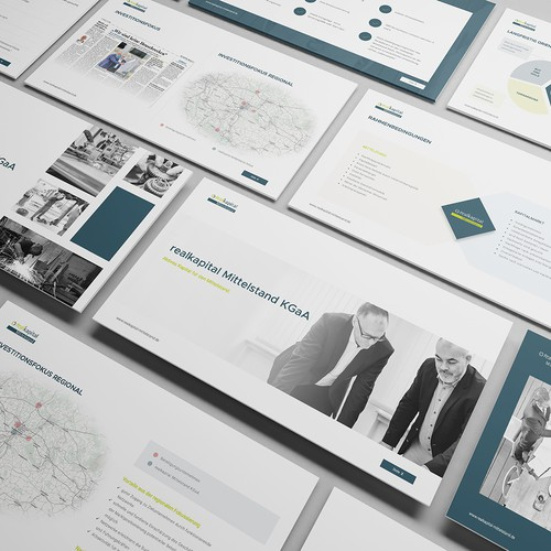 Presentation Design For Investment Company