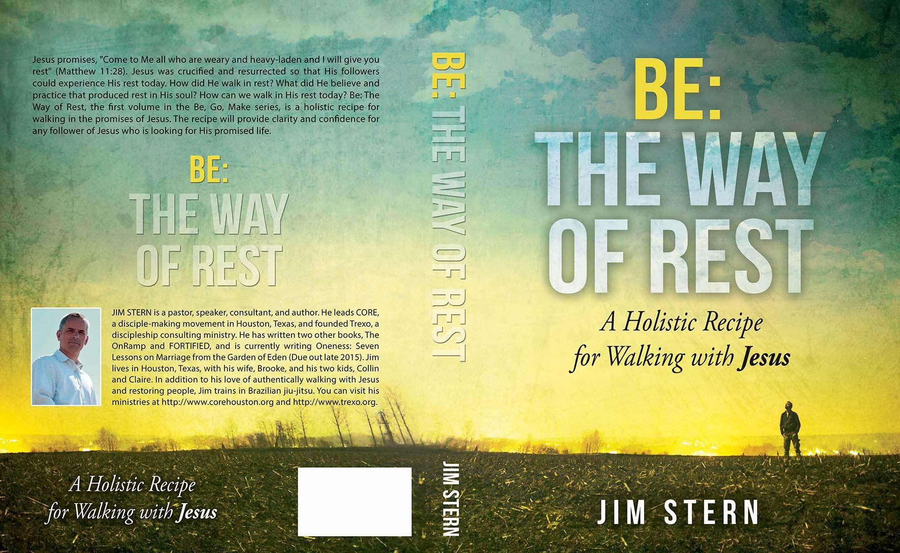 Create a peaceful book cover for an inspiring Christian workbook.