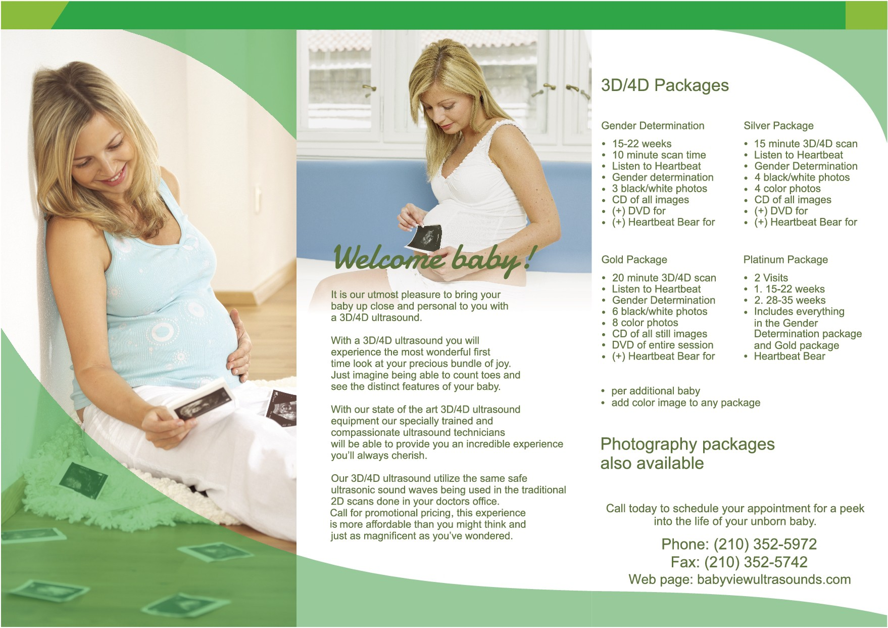 Baby view Business cards/brochures