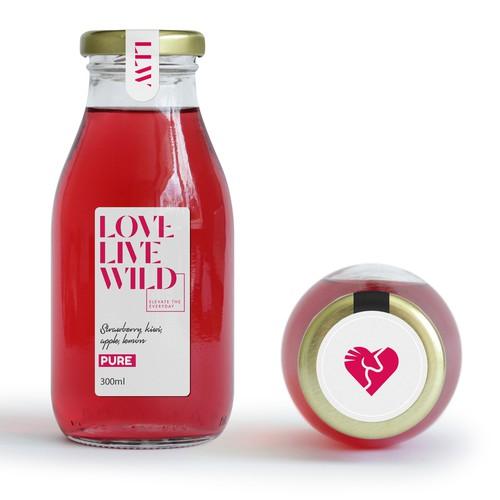 Love Live Wild logo design