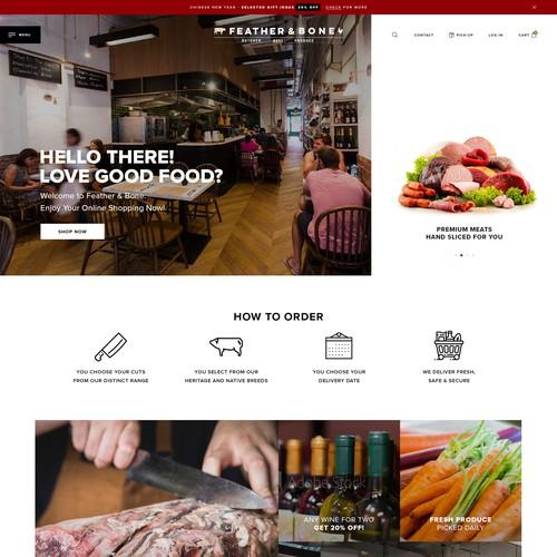 eCommerce Store - fullscreen