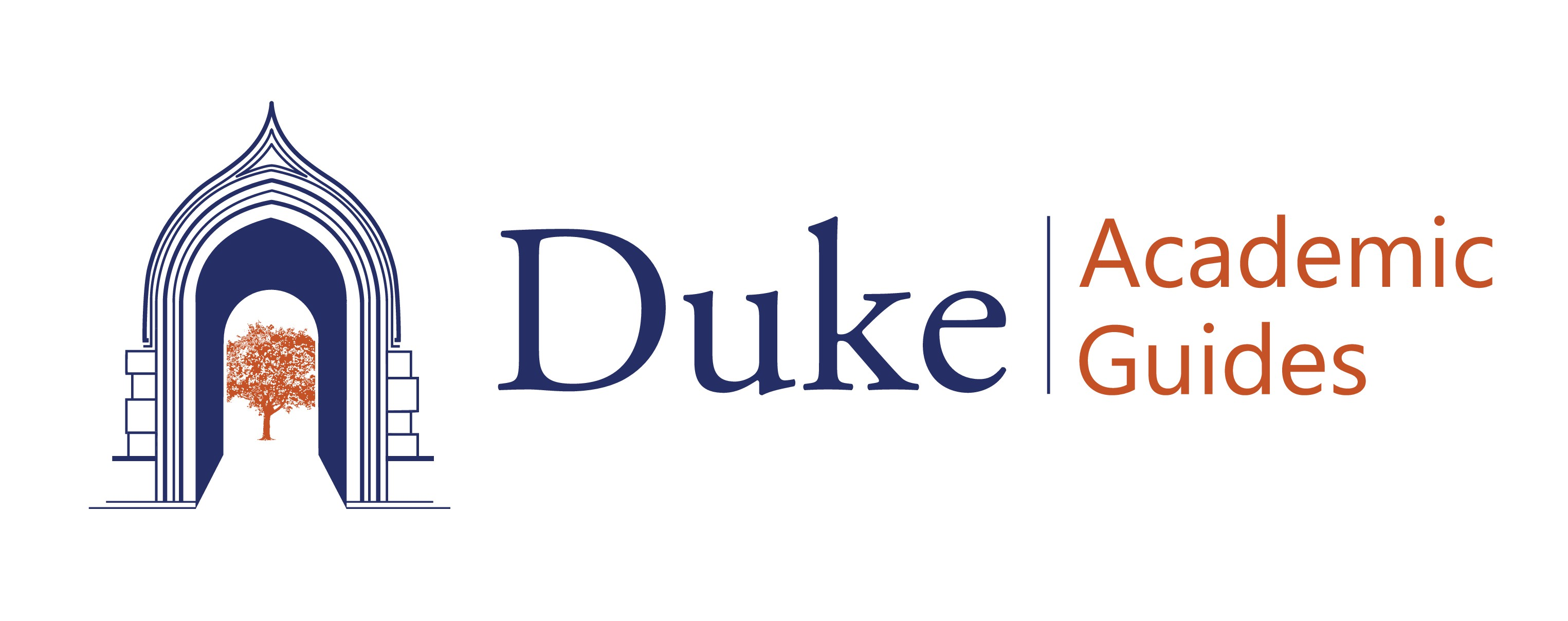 Duke University Academic Guide Program Illustrated Logo