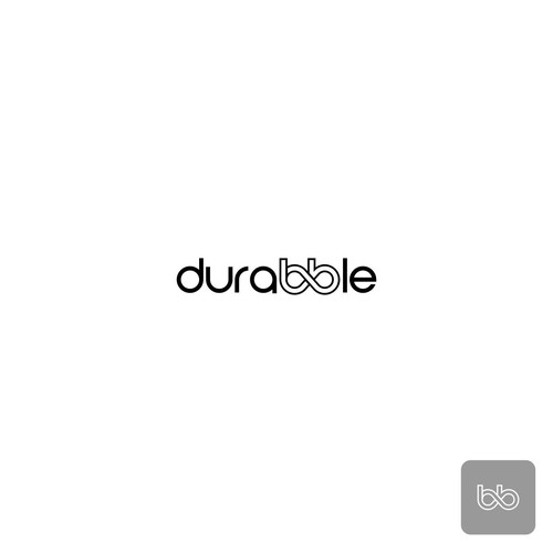 simple logo for durabble