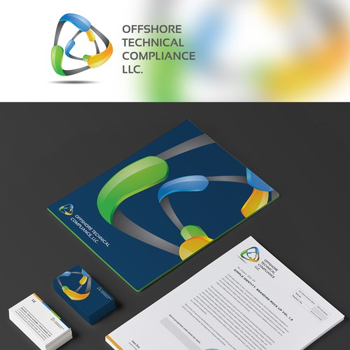 Create a sophisticated yet simple logo for a growing Offshore Oil and Gas Compliance Services Co.