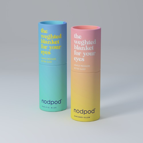 Gradient Style BOLD Packaging