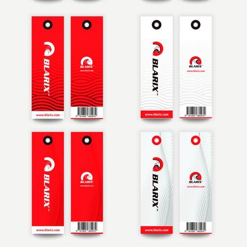 Hangtag and Care label (Swimwear Blarix)