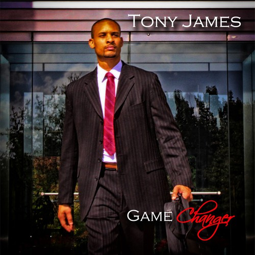 "CD Album Cover Design - ""Game Changer"" by artist Tony James"