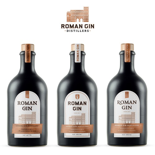 Labels for Roman Gin