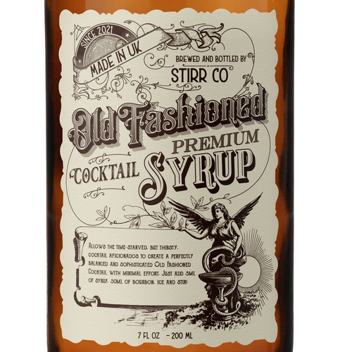 Syrup Label