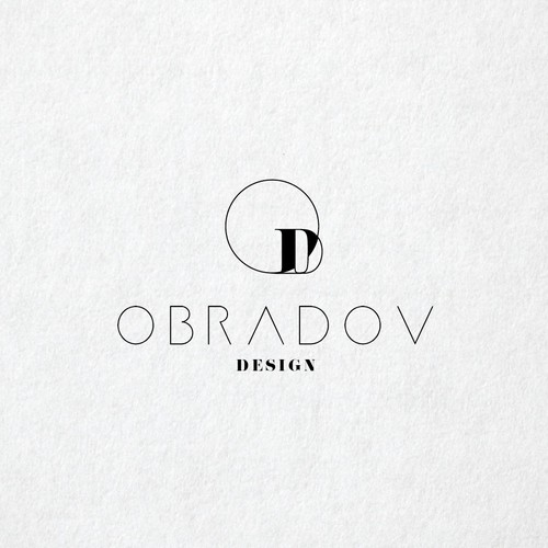 Minimalist logo concept for Interior designer