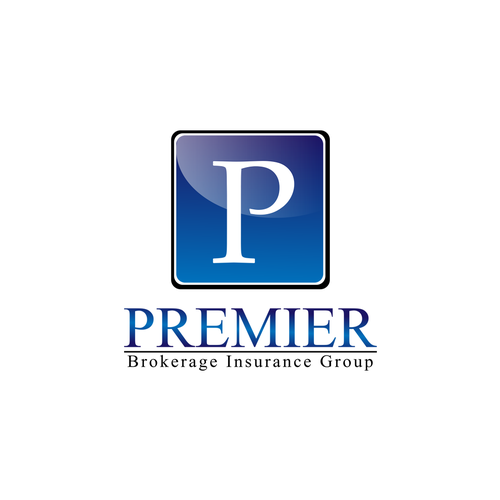 Create a modern, memorable, clean business logo for Premier Brokerage Insurance