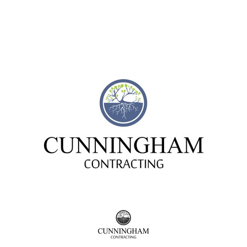 Cunningham Contracting needs a new logo