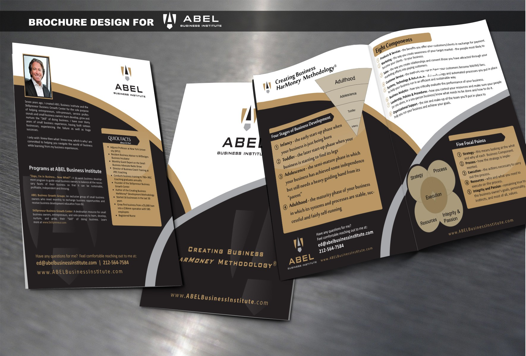 New brochure design wanted for ABEL Business Institute