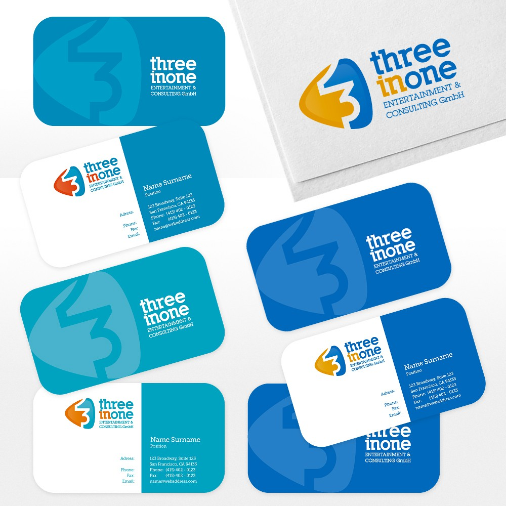 New logo wanted for Three-in-One Entertainment & Consulting