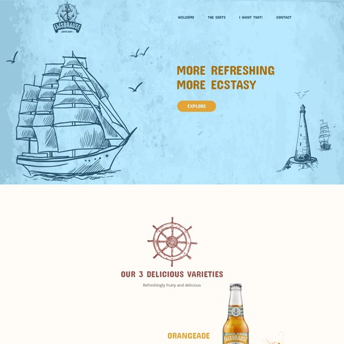 Web Design concept for emsbrause