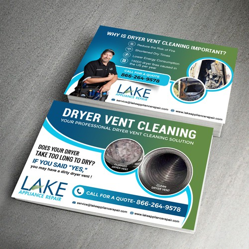 Dryer Vent Cleaning Post Card