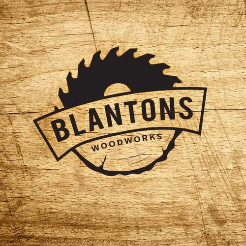 Logo for Blantons Woodworks