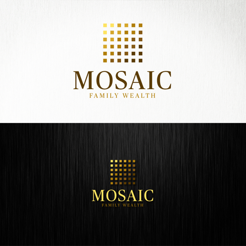 Mosaic Family Wealth Logo (Winning Design)