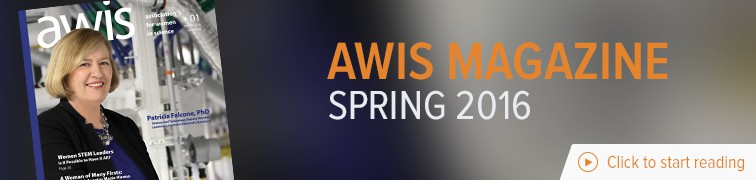 Spring 2016 AWIS Magazine Banner