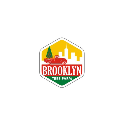 Logo Concept for Brooklyn Tree Farm