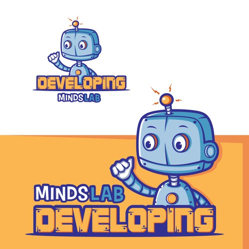 Family-friendly logo for child development research lab