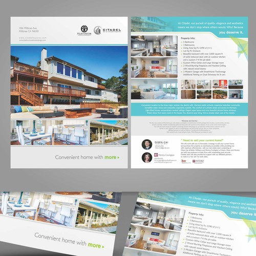 Property Brochure Design for Citadel