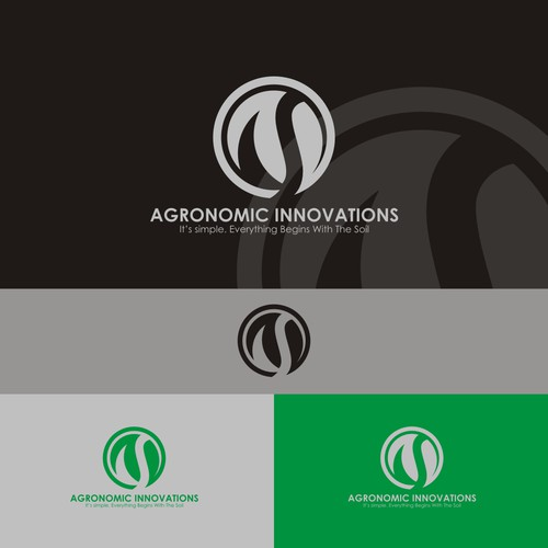 logo concept for agronomic innovations