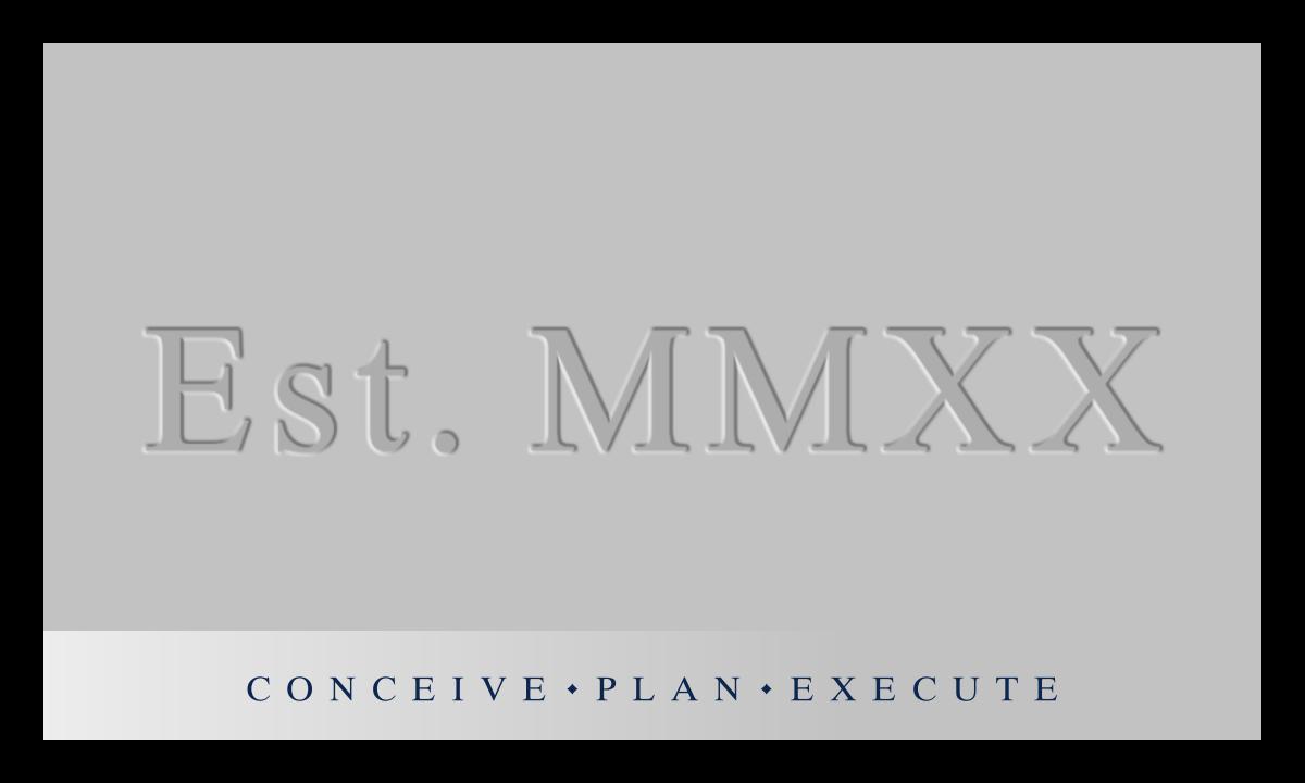 Logo design for a construction management company