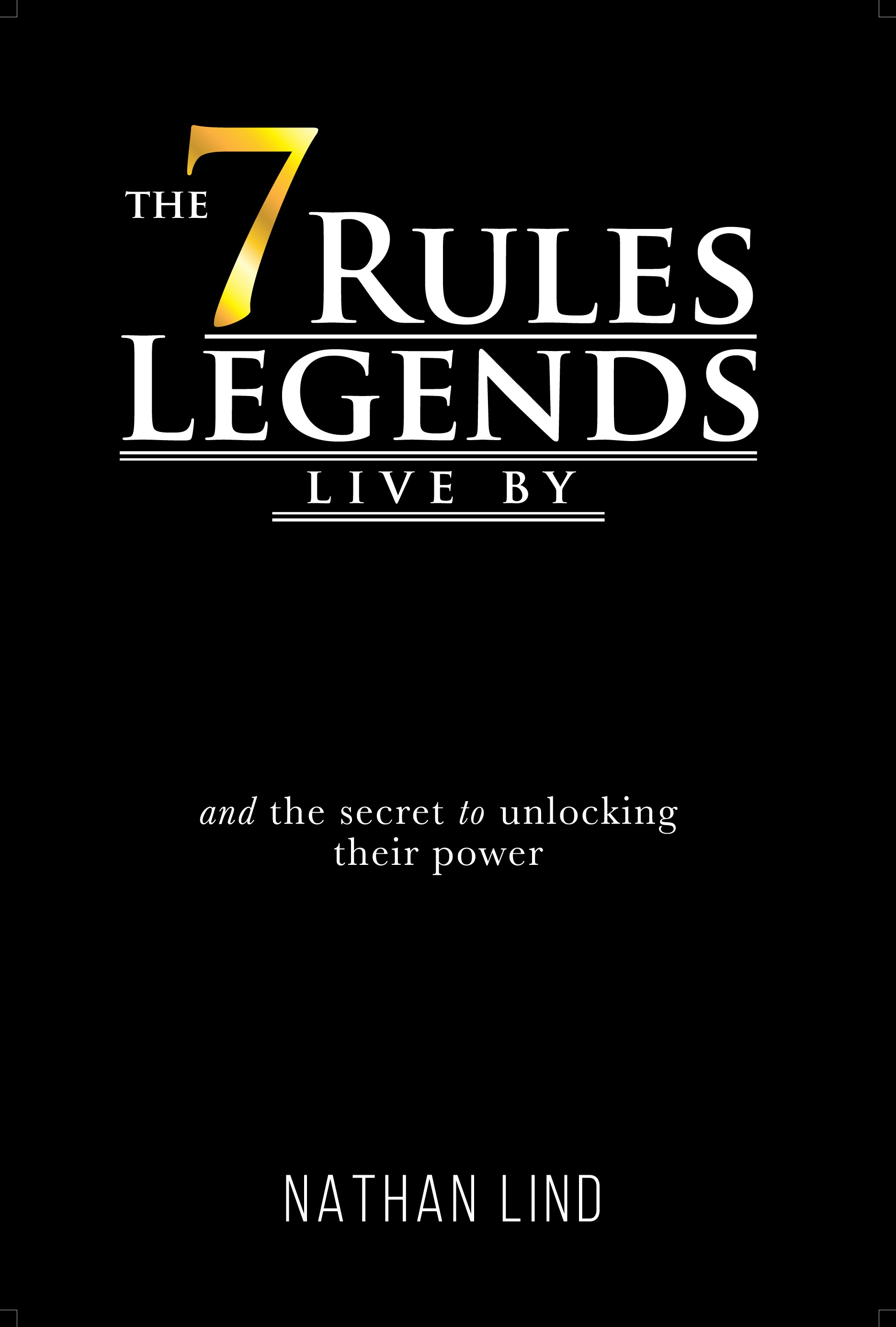 Book Title - LEGENDS