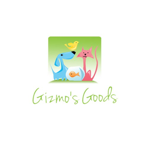 Create the next logo for Gizmo's Goods