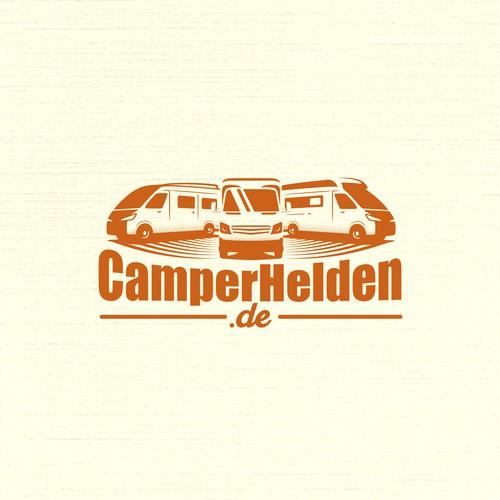 Car illustrations concept for CamperHelden.de