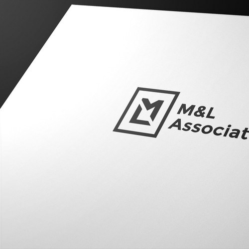 M&L Associates logo design