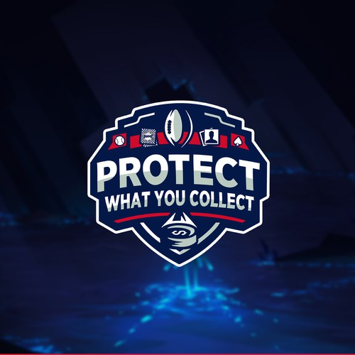 Protect What You Collect Logo design
